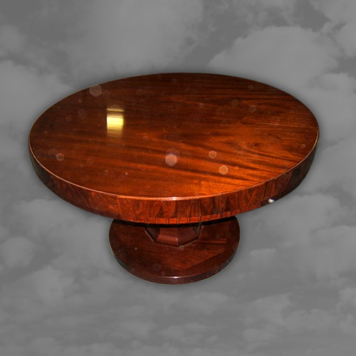 Circular Dining Table, Closed