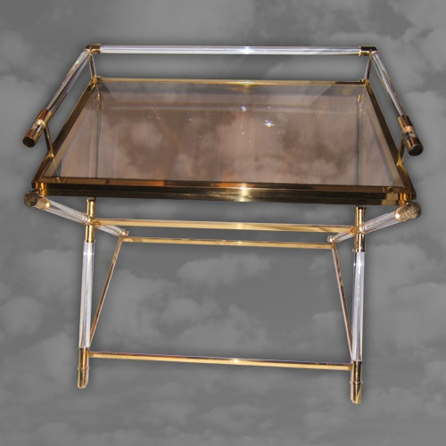 Unusual 1970s Butlers Tray of Rectangular Form