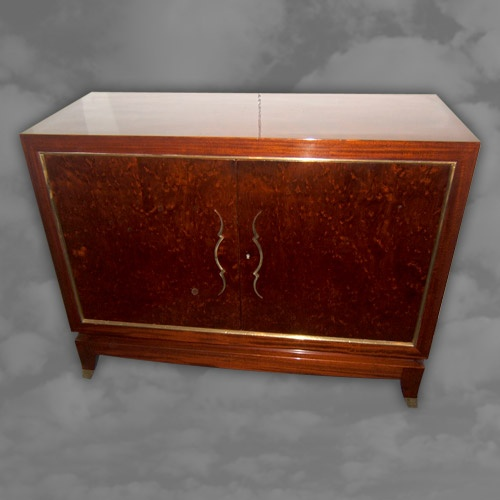 JULES LELUE - An important pair of French Art Deco side cabinets