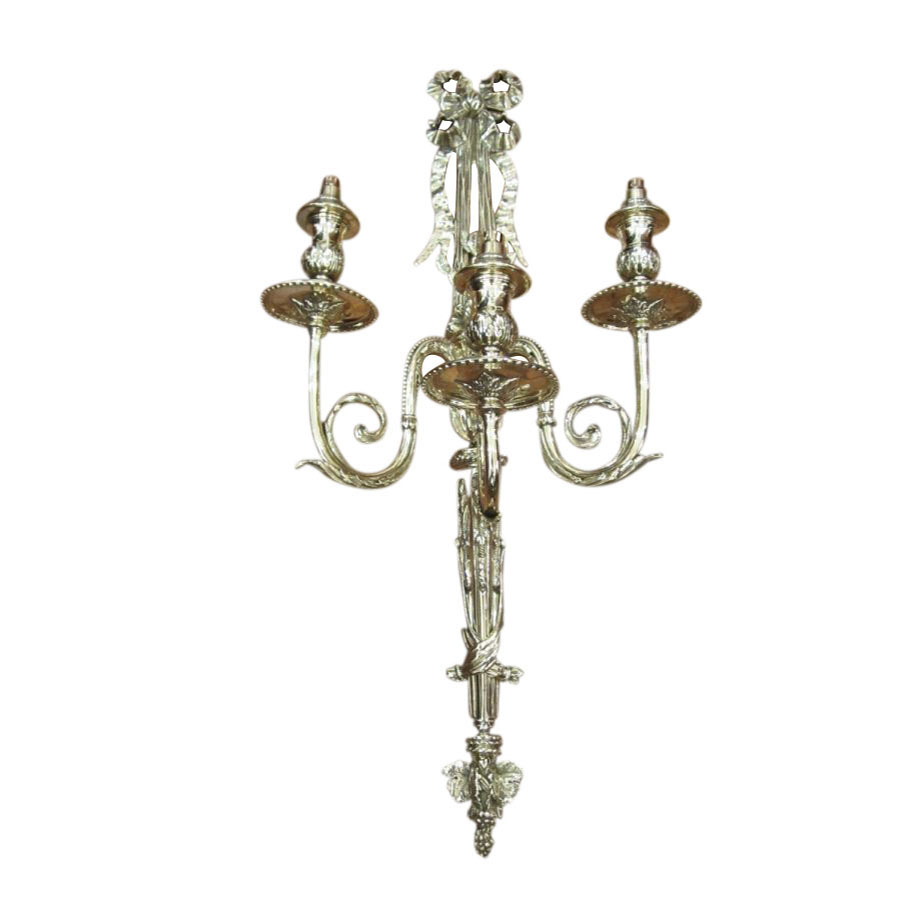 Three Branched Candle Sconce