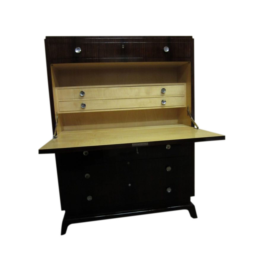 Superb Art Deco Rosewood Secretaire