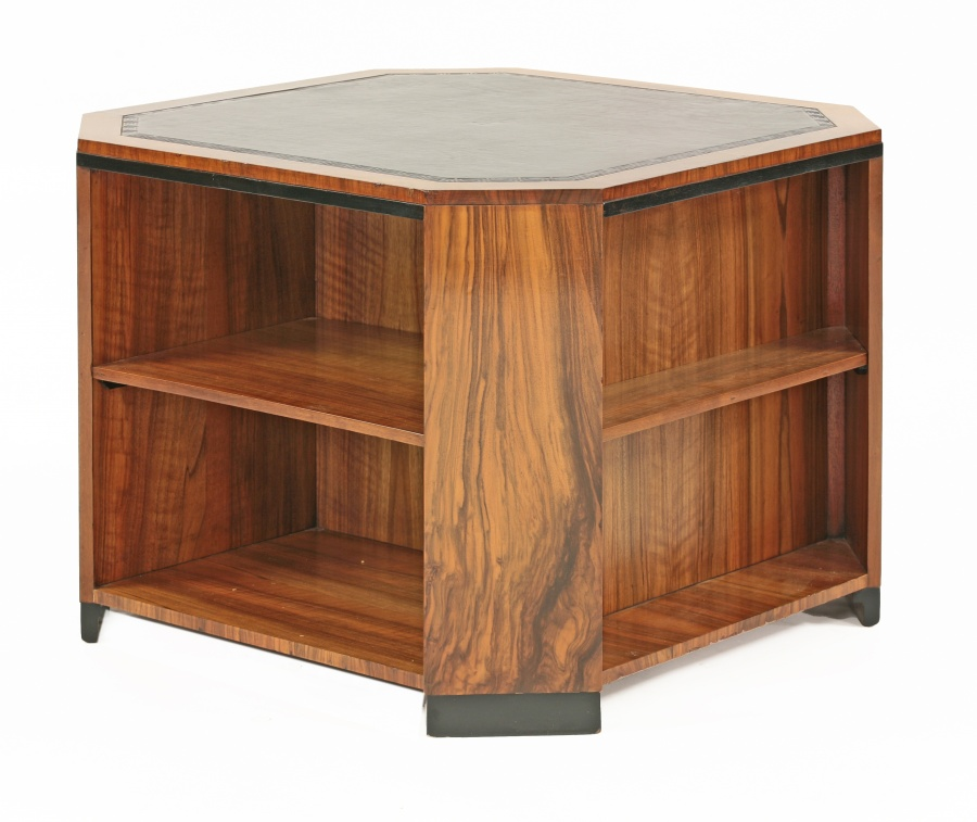 An Unusual Art Deco Book Table