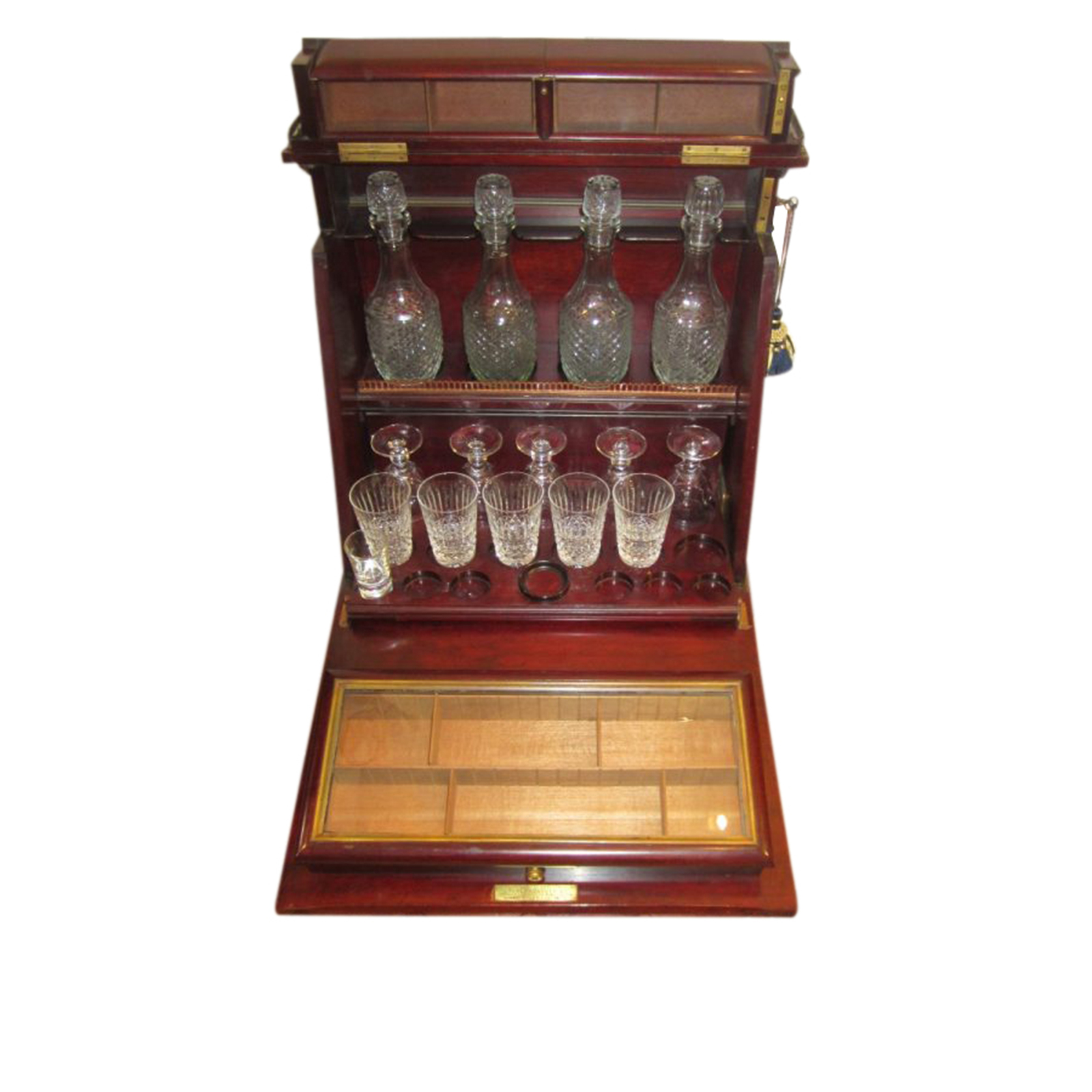 Image of Cabinet Opened