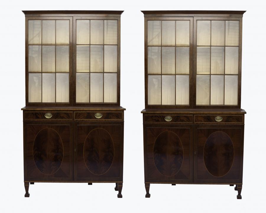 Pair of James Hicks Bookcases