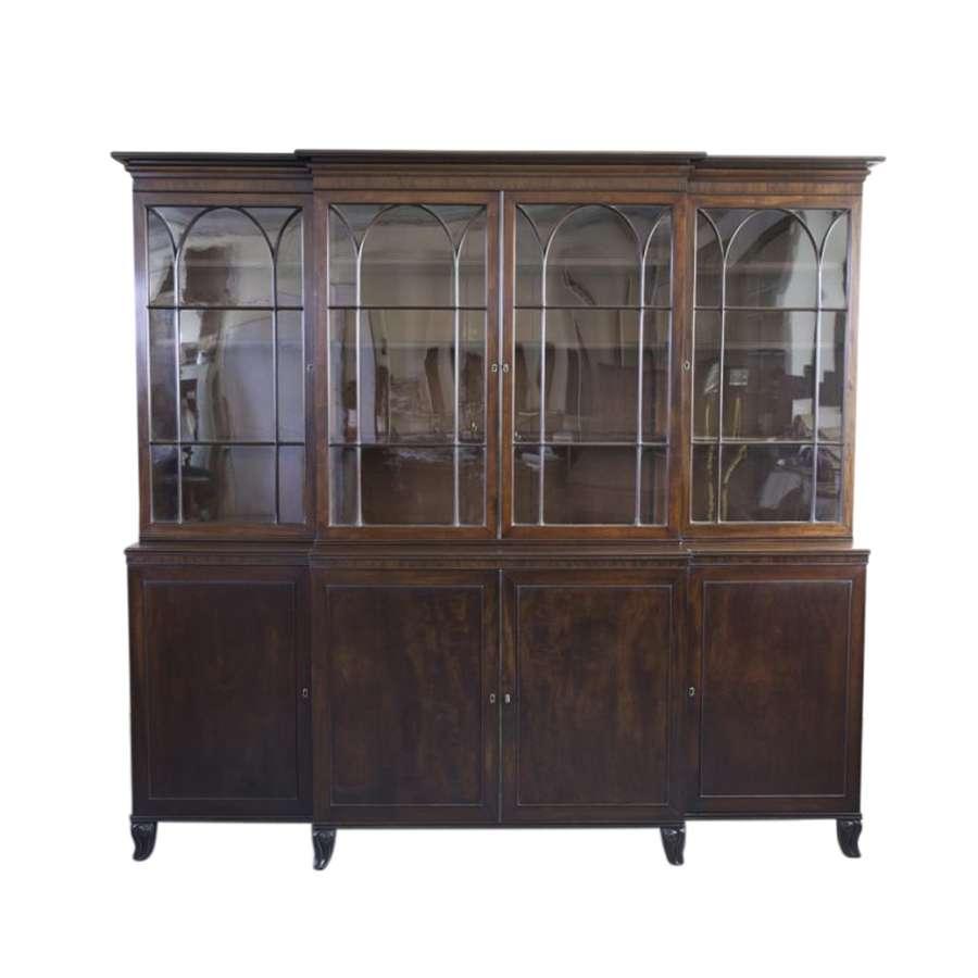 Superb 19th Century Bookcase