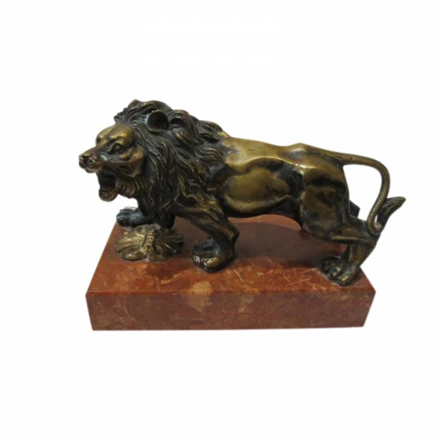 19th Century Bronze Lion