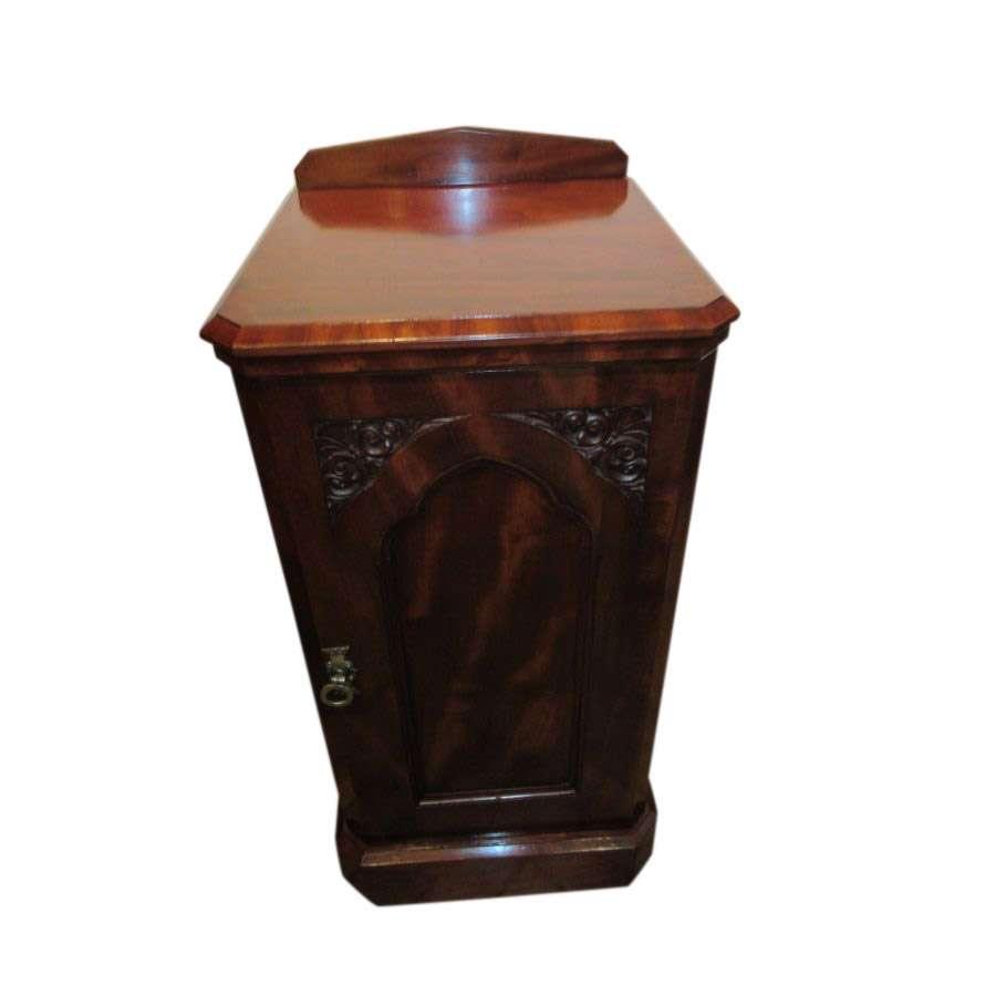 Victorian Mahogany Bedside Locker