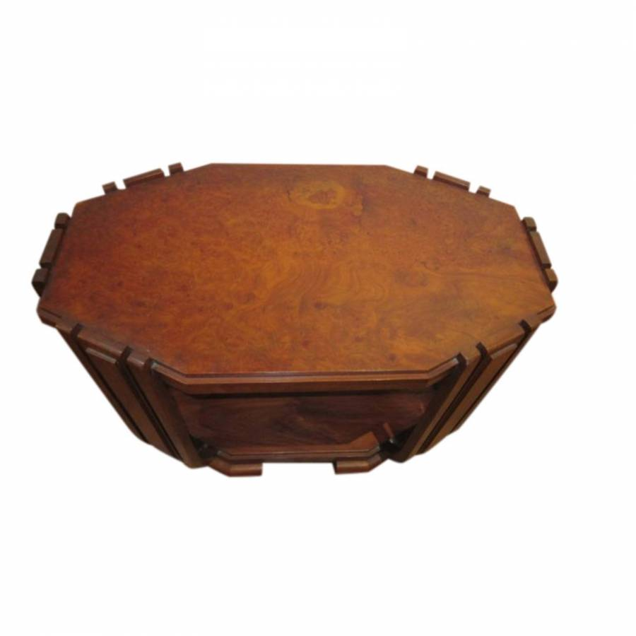 Stunning Quality Art Deco Center/Coffee Table