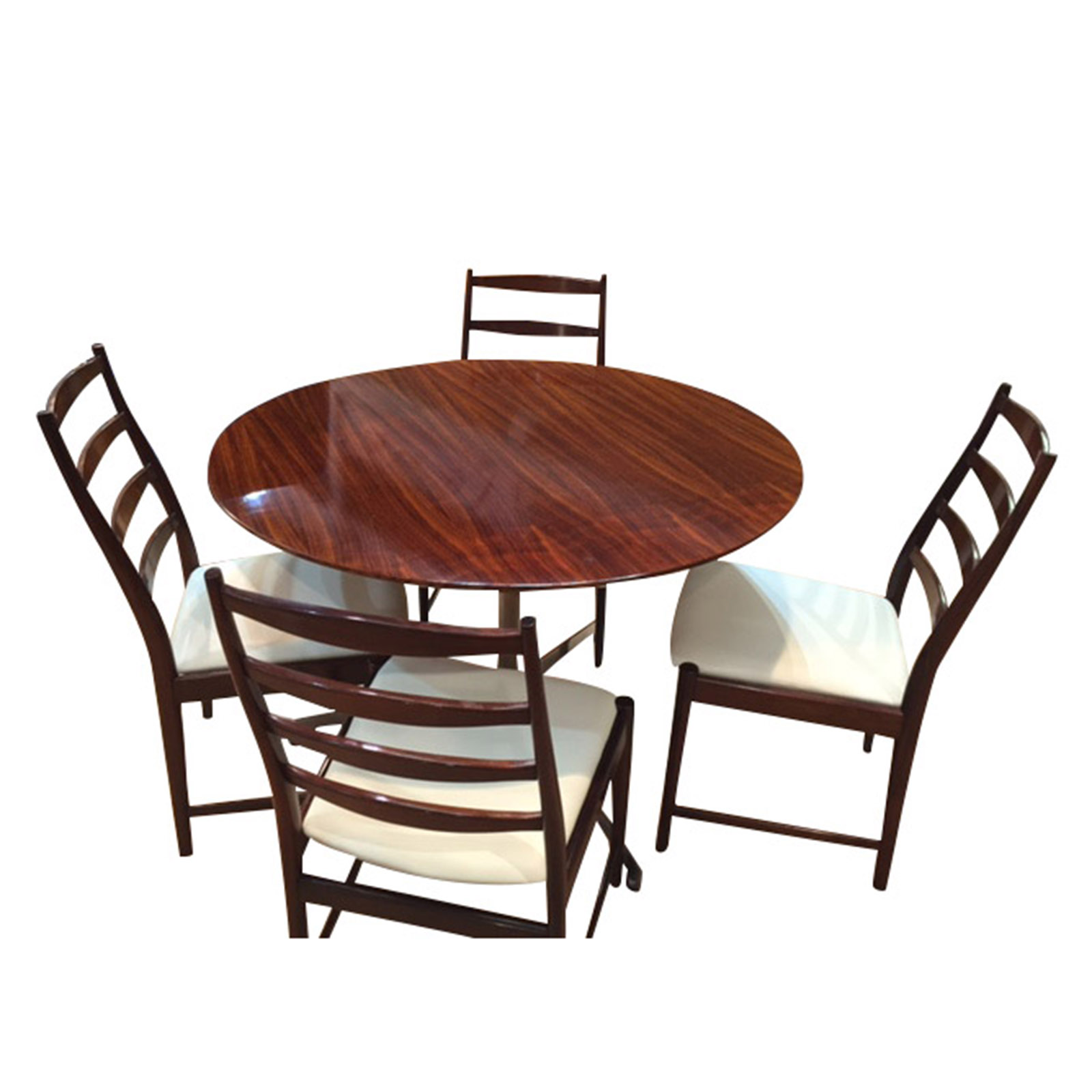 Very Smart Vintage Rosewood Rise and Fall Dining Table