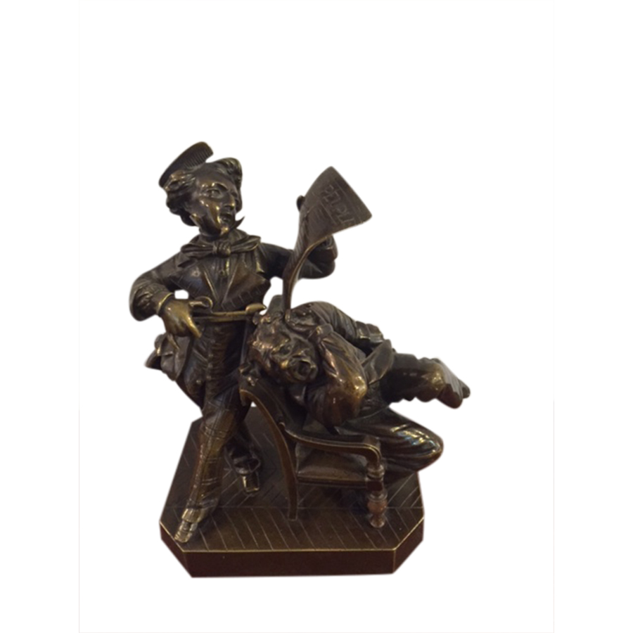 Quirky Bronze Sculptural Figure
