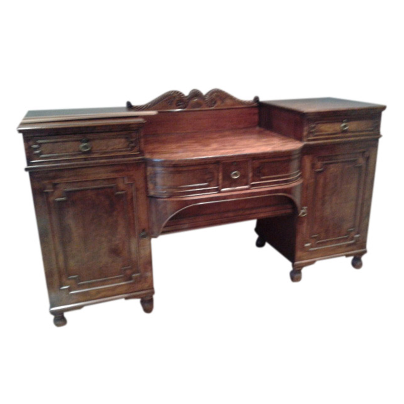 Quality Regency Mahogany Sideboard