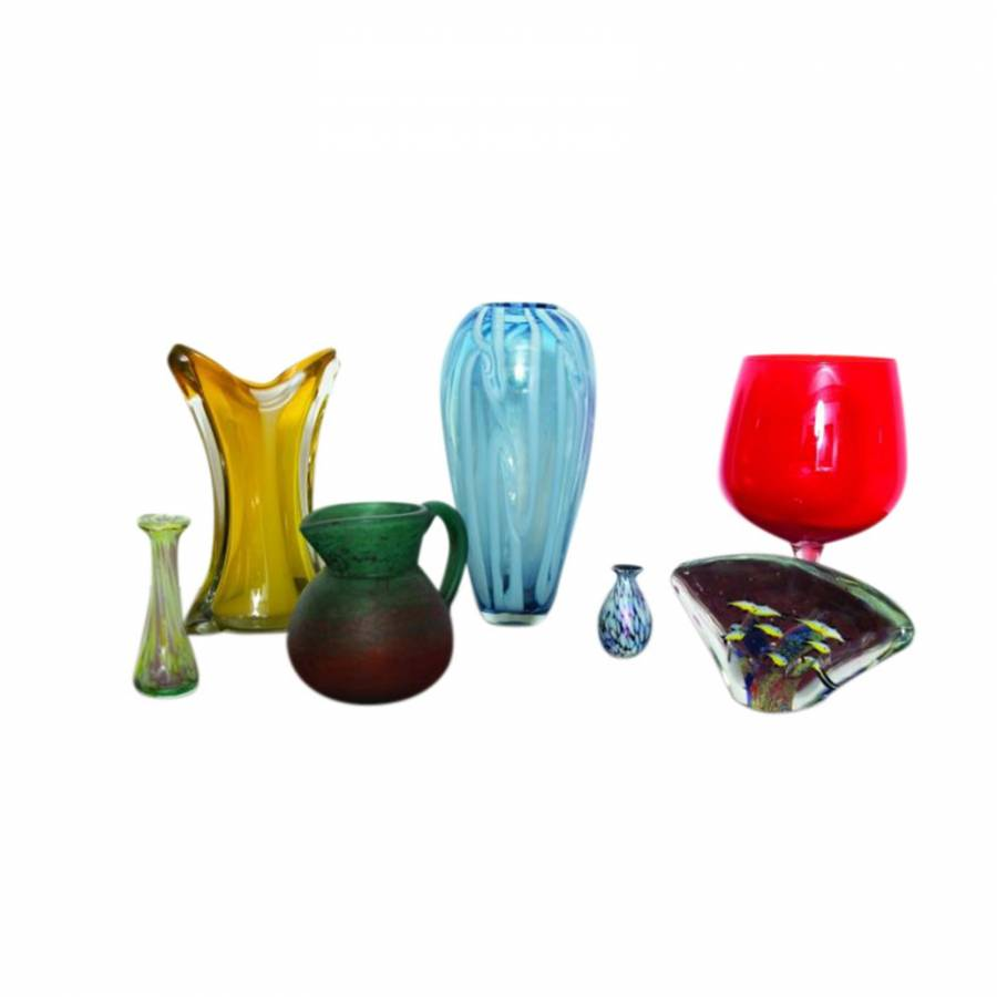 Fine Selection of Vintage Glass