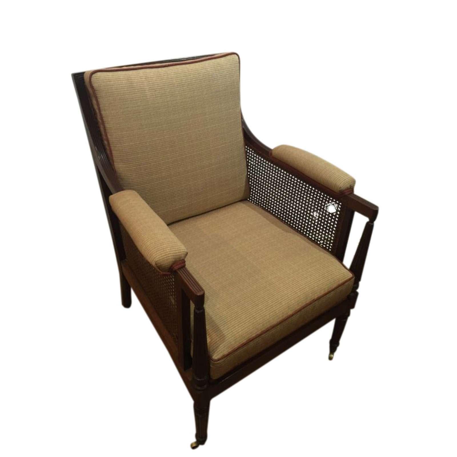 Fine Original Bergere Arm Chair