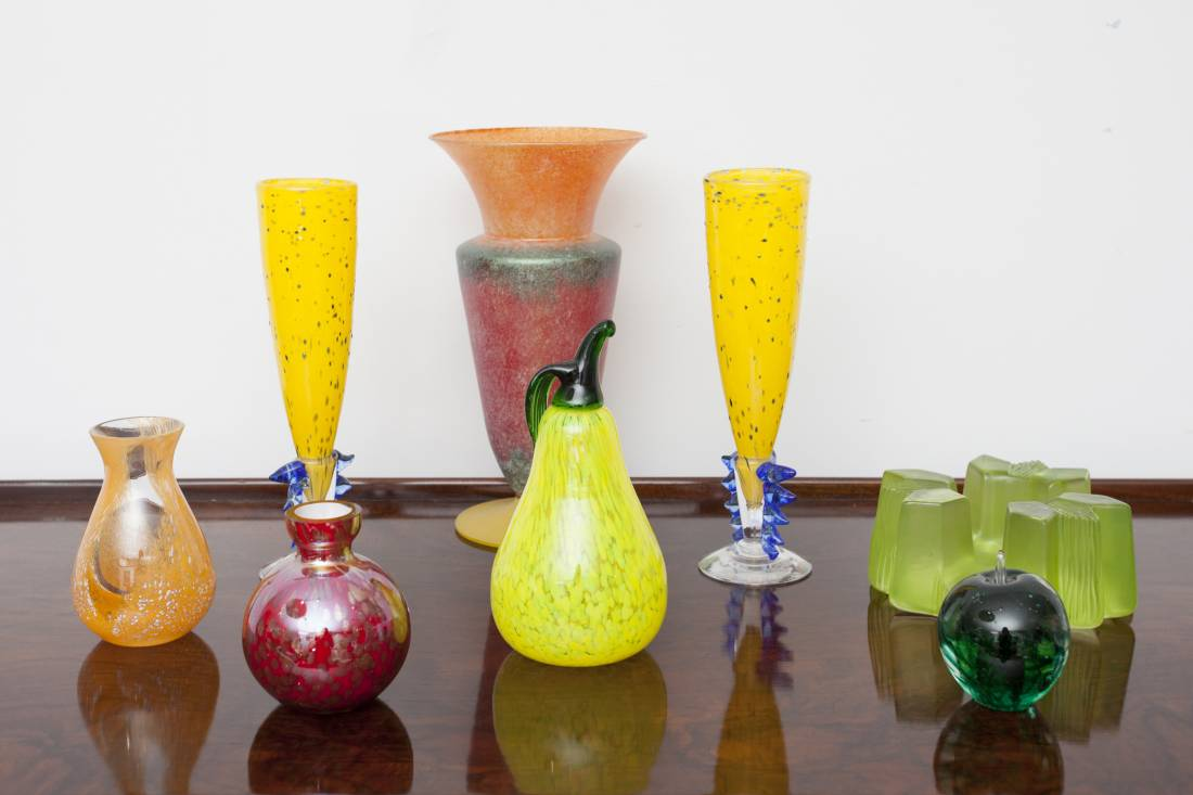 Cool selection of vintage glass