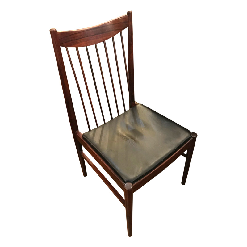 Arne Vodder Smart set 4 Rosewood Chairs