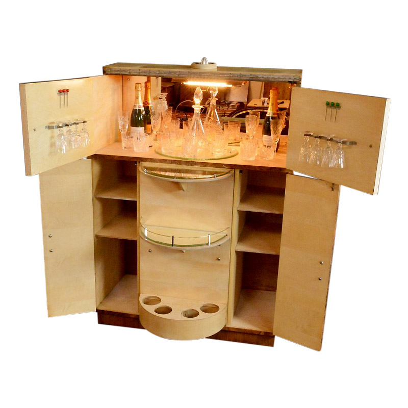 Very Smart Deco Cocktail Cabinet