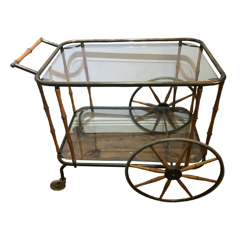 Quirky Vintage Drinks Trolley