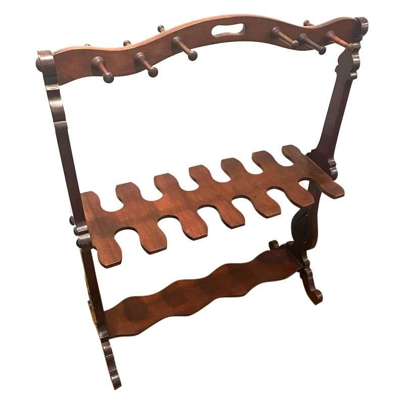 Victorian Mahogany Boot Rack
