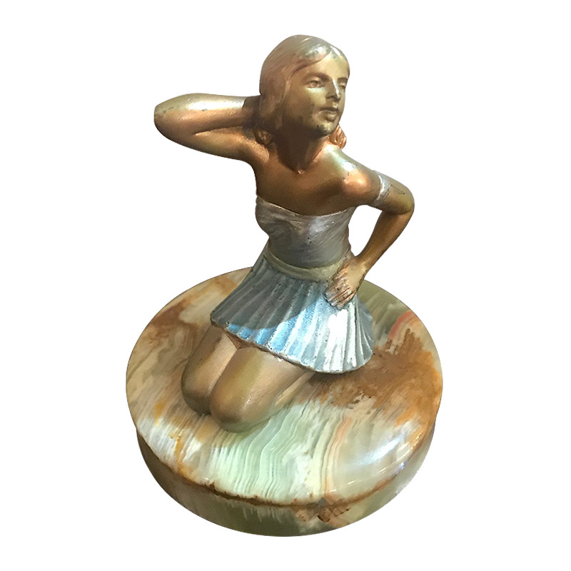 Stunning Josef Lorenzl Bronze Figurine