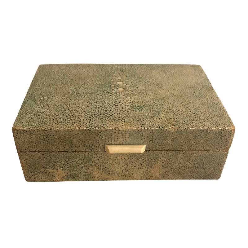 Art Deco Shagreen Trinket Box