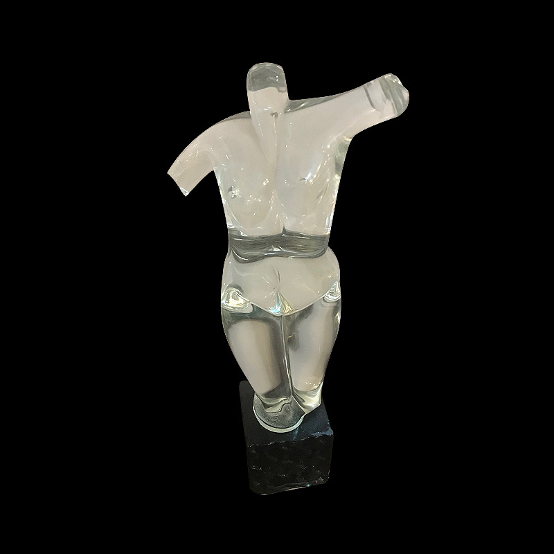 Quirky Murano Glass Sculpture