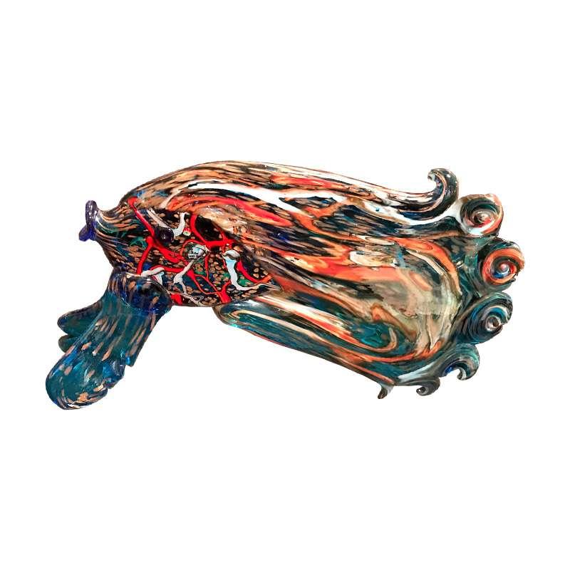 Quirky Murano Glass Fish