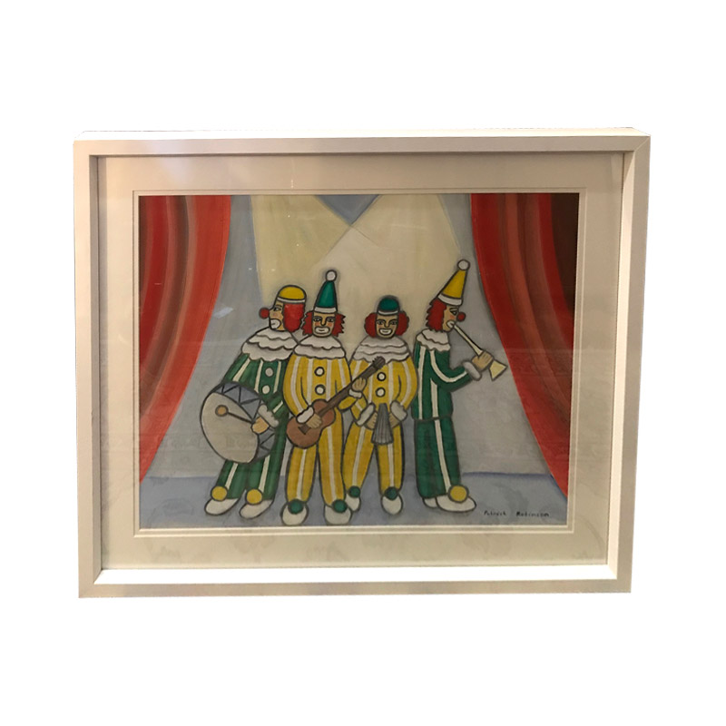 """Clowns On Stage"" by Patrick Robinson"