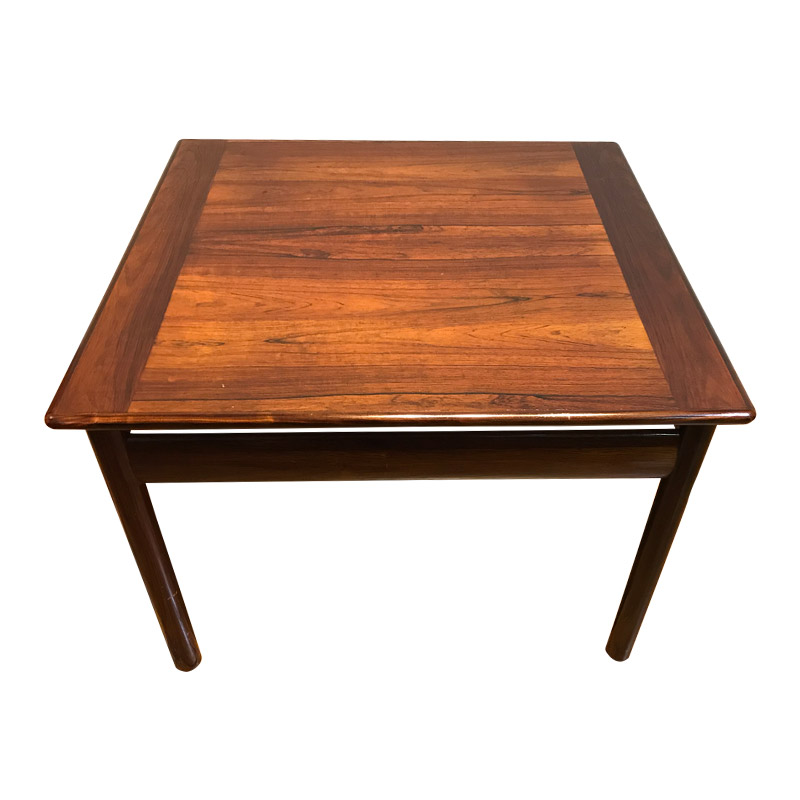 FULLY RESTORED VINTAGE ROSEWOOD COFFEE TABLE