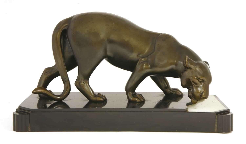 Fine Art Deco Lioness