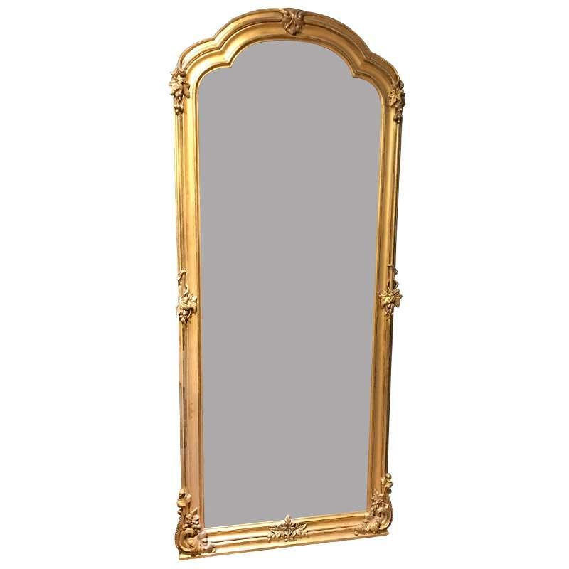 Very Smart Victorian Gilt Pier Mirror