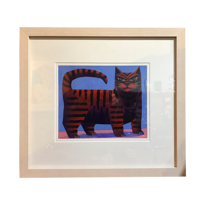 Graham Knuttel Stripped Cat
