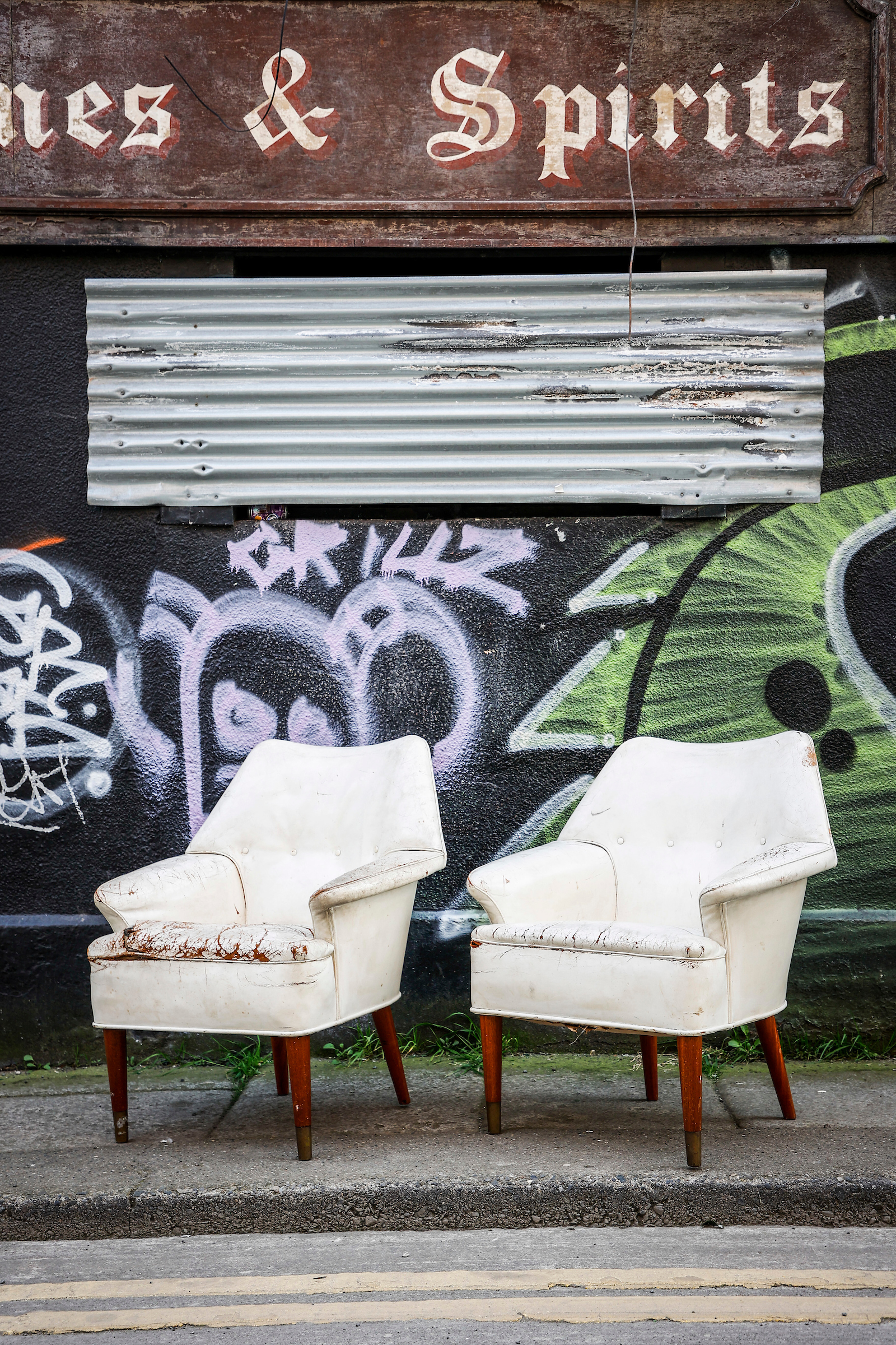 VERY COOL MID CENTURY ARMCHAIRS