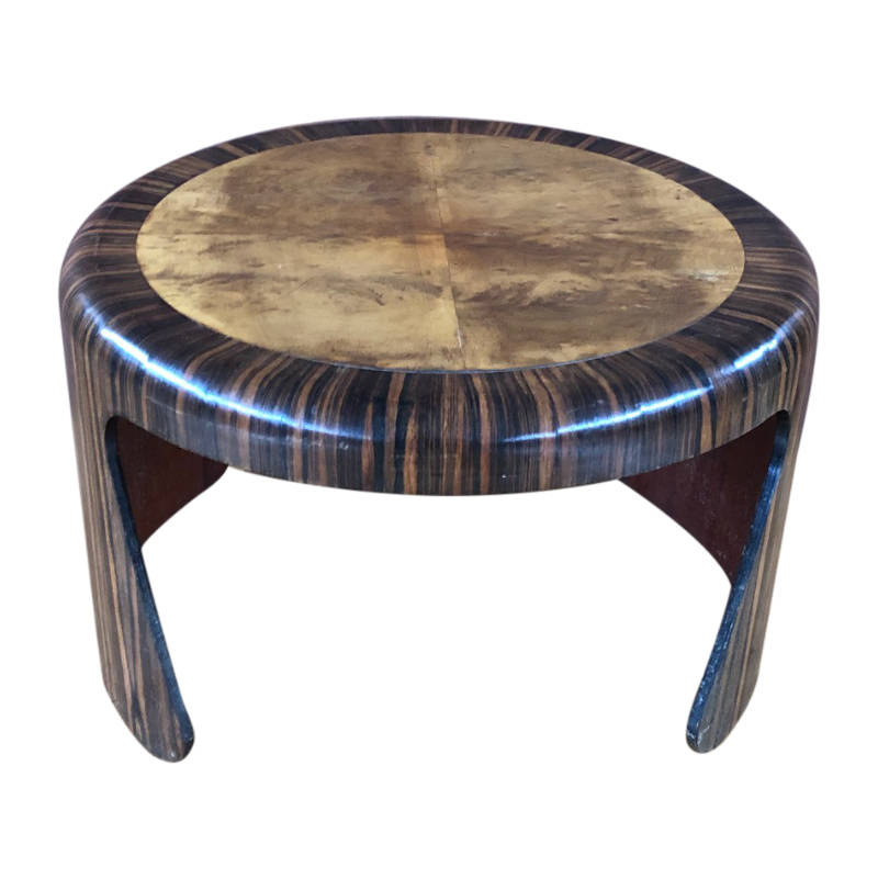 UNRESTORED FRENCH ART DECO COFFEE TABLE