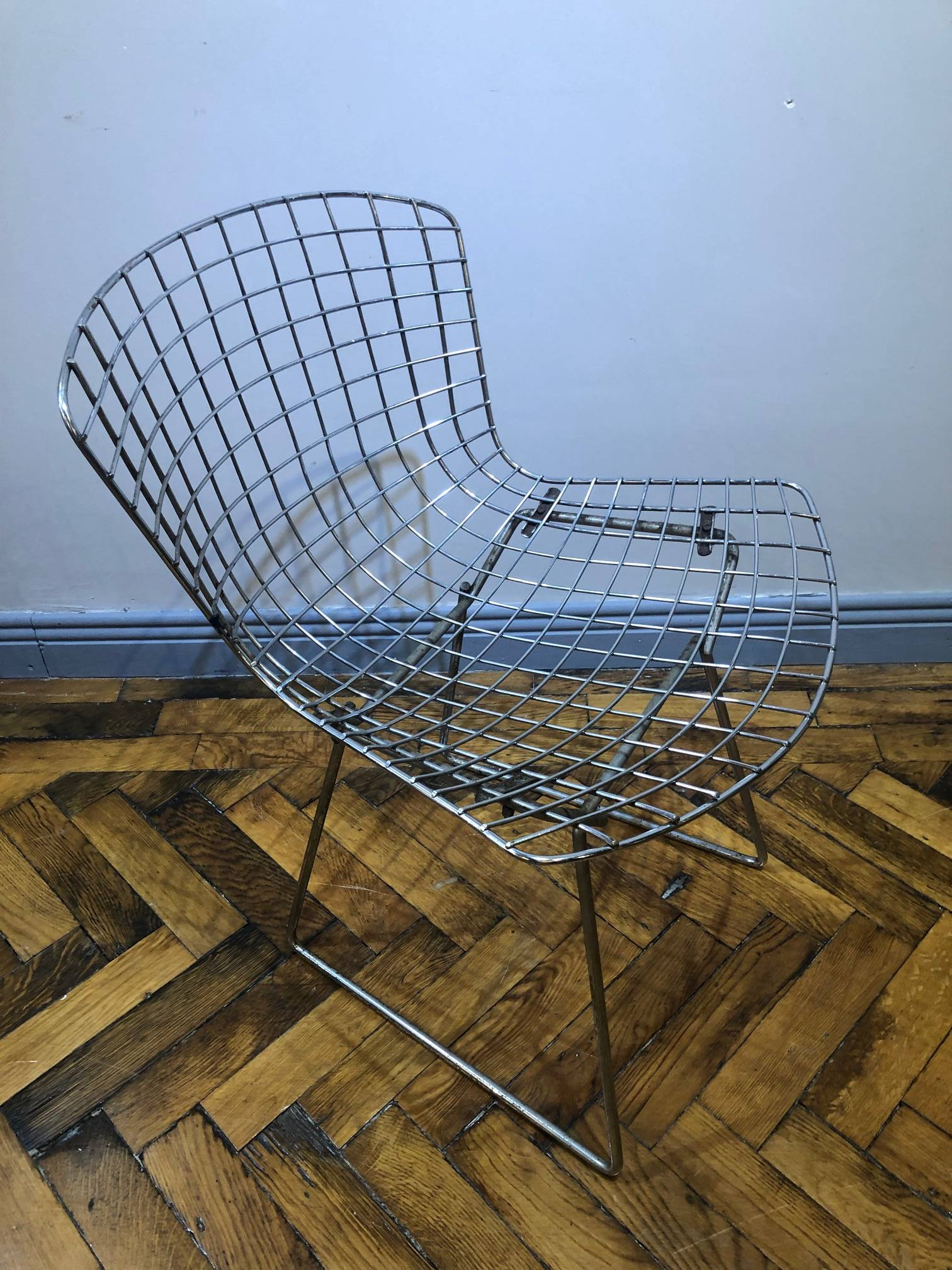 SET OF FOUR VINTAGE HARRY BERTOIA CHAIRS
